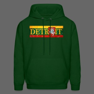 Detroit Lithuanian Flag - Men's Hoodie