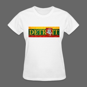Detroit Lithuanian Flag - Women's T-Shirt