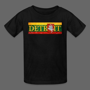 Detroit Lithuanian Flag - Kids' T-Shirt