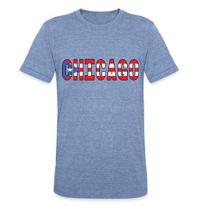 Chicago Rican - Unisex Tri-Blend T-Shirt by American Apparel