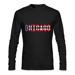 Chicago Rican - Men's Long Sleeve T-Shirt by Next Level