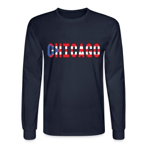 Chicago Rican - Men's Long Sleeve T-Shirt