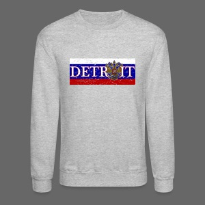 Detroit Russian Flag - Crewneck Sweatshirt