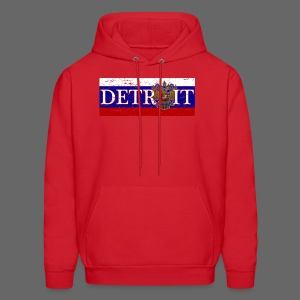 Detroit Russian Flag - Men's Hoodie