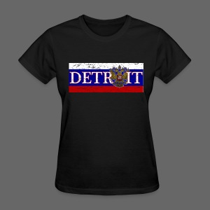 Detroit Russian Flag - Women's T-Shirt