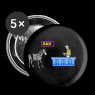 Buttons ~ Small Buttons ~ Zebra Humor Bar pin