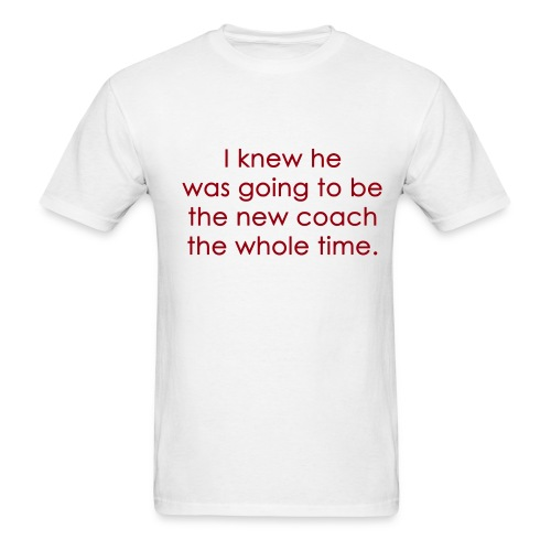 I knew... - Men's T-Shirt