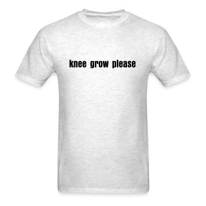 knee grow please - Men's T-Shirt