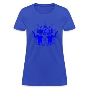 Womens Inner Circle Muay Thai - Light Blue - Women's T-Shirt