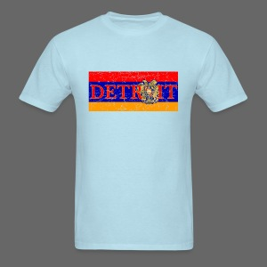 Detroit Armenian Flag - Men's T-Shirt