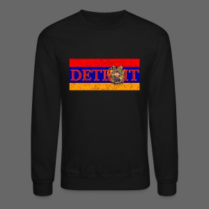 Detroit Armenian Flag - Crewneck Sweatshirt