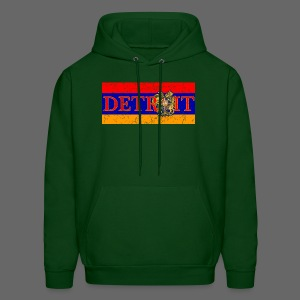 Detroit Armenian Flag - Men's Hoodie