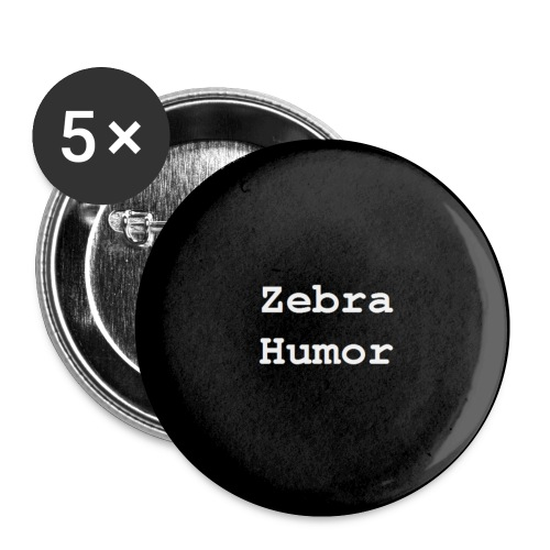 Zebra Humor Pin - Small Buttons
