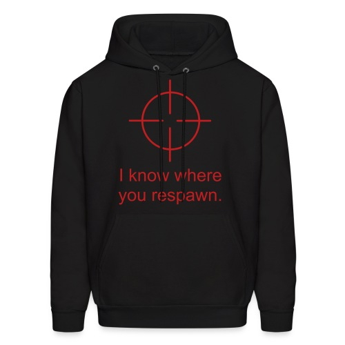 Classic I know where you respawn - Men's Hoodie