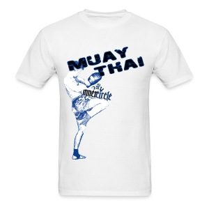 Inner CIrcle Muay Thai - White - Men's T-Shirt