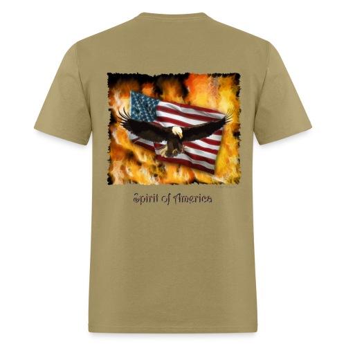 American Spirit - Men's T-Shirt