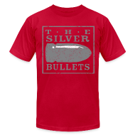 T-Shirts ~ Men's T-Shirt by American Apparel ~ OLD SCHOOL SILVER BULLETS