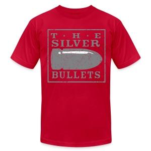 OLD SCHOOL SILVER BULLETS - Men's Fine Jersey T-Shirt