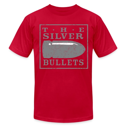 OLD SCHOOL SILVER BULLETS - Men's Fine Jersey T-Shirt