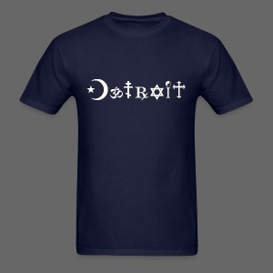 Diverse Detroit - Men's T-Shirt