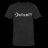 T-Shirts ~ Unisex Tri-Blend T-Shirt by American Apparel ~ Diverse Detroit