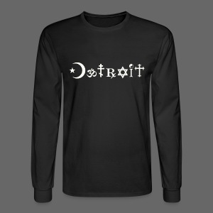 Diverse Detroit - Men's Long Sleeve T-Shirt