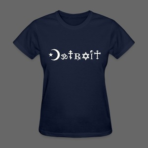Diverse Detroit - Women's T-Shirt
