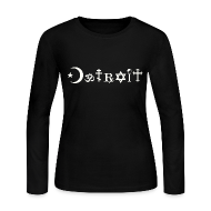 Long Sleeve Shirts ~ Women's Long Sleeve Jersey T-Shirt ~ Diverse Detroit