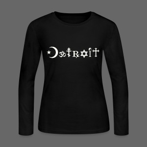 Diverse Detroit - Women's Long Sleeve Jersey T-Shirt