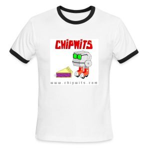 Lightweight Ringer Tee - Chipwit and pie - Men's Ringer T-Shirt