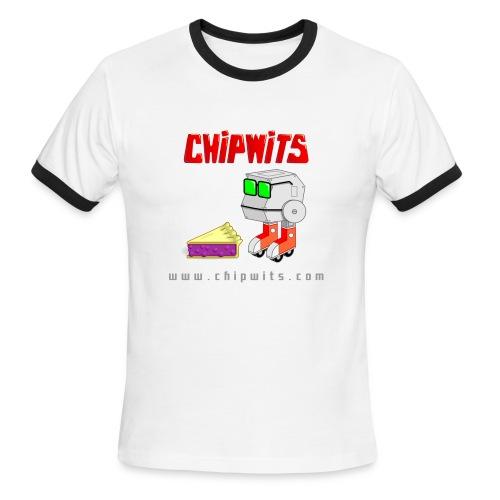 Lightweight Ringer Tee - Chipwit and pie - Men's Ringer T-Shirt