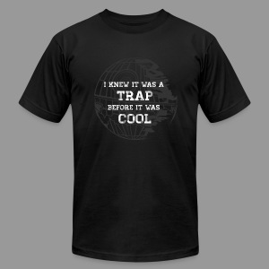 Hipster Trap Dark - Men's T-Shirt by American Apparel