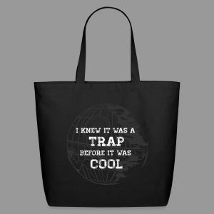 Hipster Trap Dark Tote - Eco-Friendly Cotton Tote