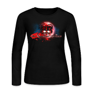 Long Sleeve Shirts ~ Women's Long Sleeve Jersey T-Shirt ~ Bloodshed Brothers  Womens Long Sleeve