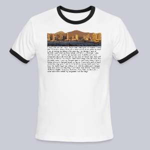 I am San Diego - Men's Ringer T-Shirt