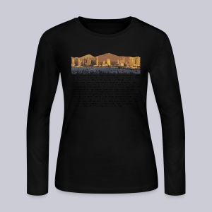 I am San Diego - Women's Long Sleeve Jersey T-Shirt