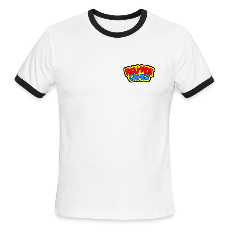 Holmade Games Logo Tee - Men's Ringer T-Shirt