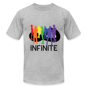 iNFINITE- Rainbow Men's AA Tee - Men's T-Shirt by American Apparel
