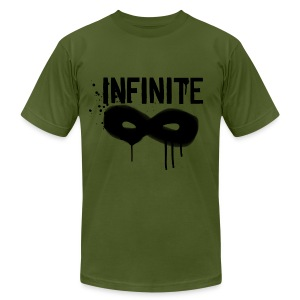 INFINITE- Graffiti Logo Men's AA Tee - Men's T-Shirt by American Apparel