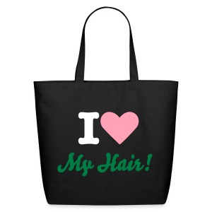 SN&LI! I Love My Hair! - Eco-Friendly Cotton Tote