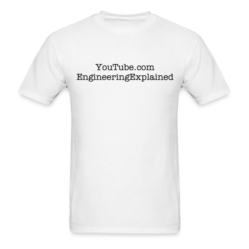Engineering Explained - Standard T - Men's T-Shirt