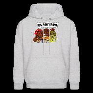 Hoodies ~ Men's Hoodie ~ Hooded Fungitron Sweatshirt