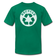 T-Shirts ~ Men's T-Shirt by American Apparel ~ Recycle