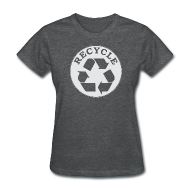 Women's T-Shirts ~ Women's T-Shirt ~ Recycle