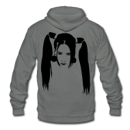 Hoodies ~ Unisex Fleece Zip Hoodie by American Apparel ~ Article 9601144