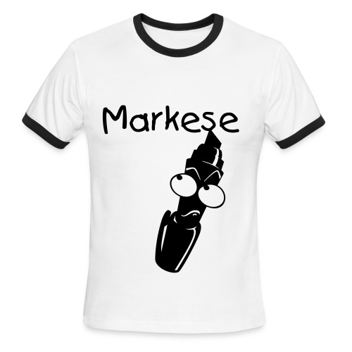 Markese The Mop ringer tee - Men's Ringer T-Shirt
