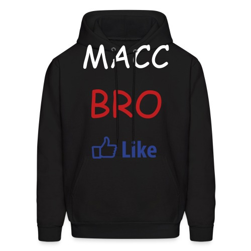MACC BRO ( facebook like) - Men's Hoodie