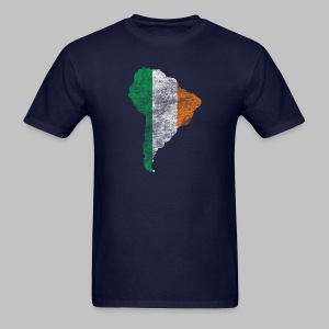 South American Irish Flag - Men's T-Shirt
