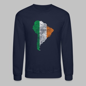 South American Irish Flag - Crewneck Sweatshirt