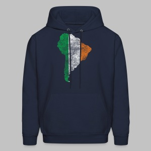 South American Irish Flag - Men's Hoodie